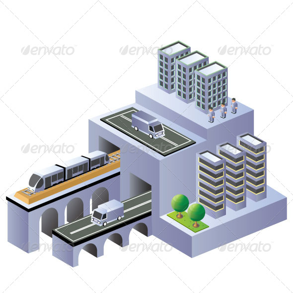 GraphicRiver Isometric Plan 7337591