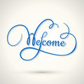 welcome hand lettering - PhotoDune Item for Sale