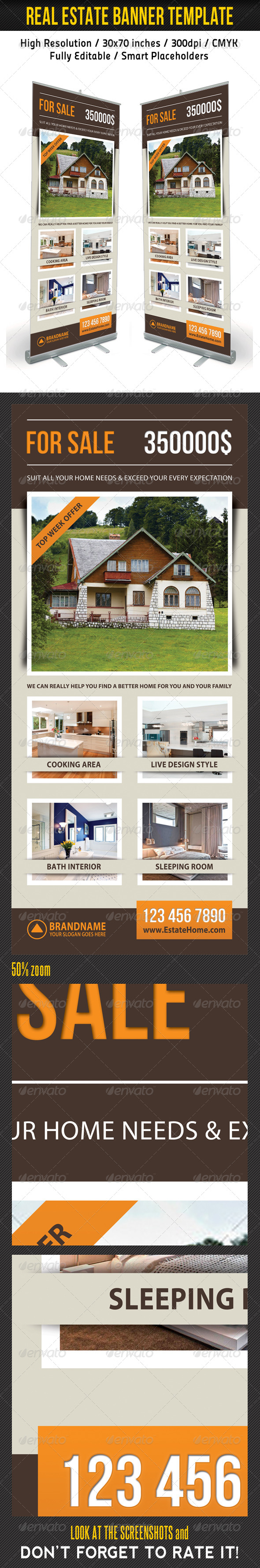 GraphicRiver Real Estate Banner Template 13 7338376