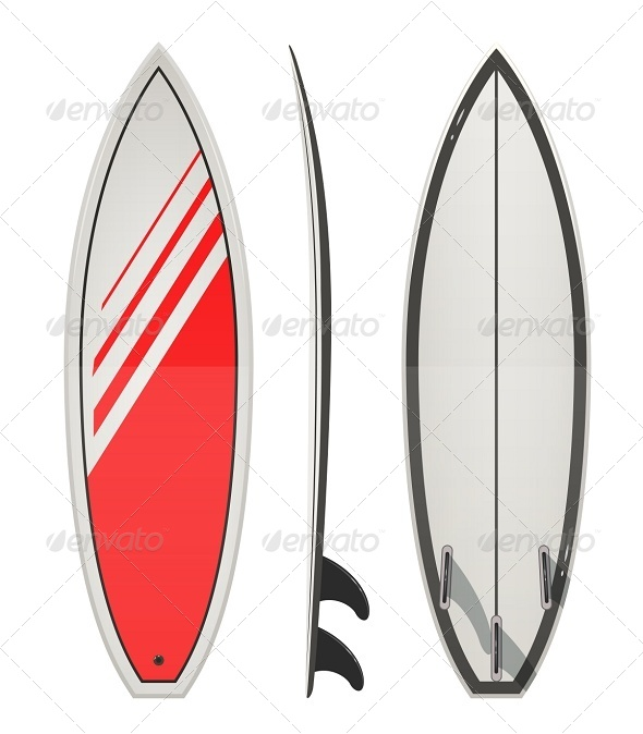 GraphicRiver Surfing Board 7339711
