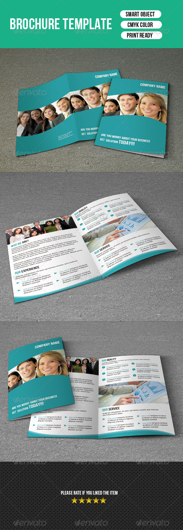 GraphicRiver Bifold Business Brochure 7339718
