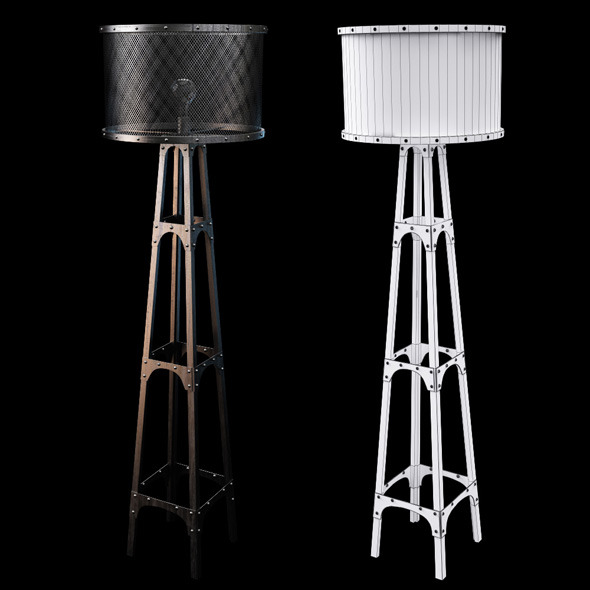 3DOcean Chehoma floor lamp 7339722