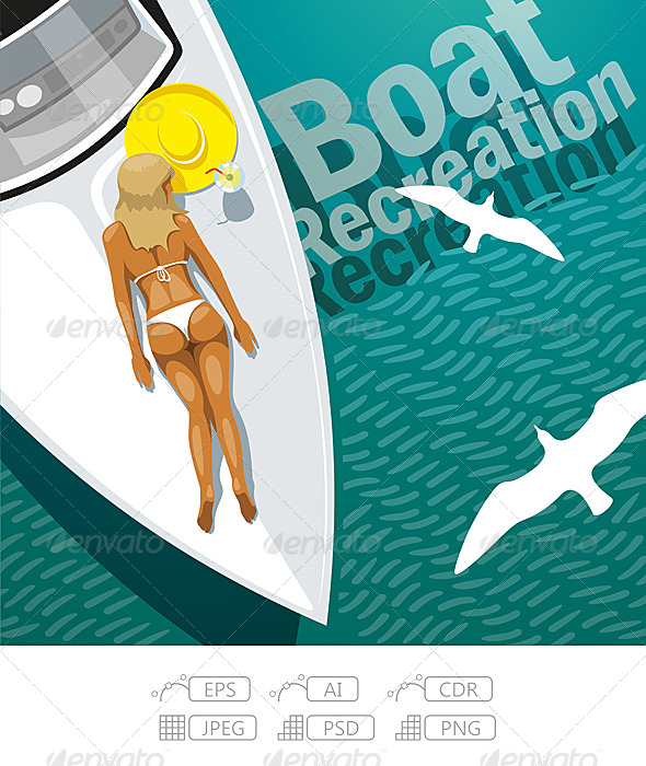 GraphicRiver Boat Recreation 7339724