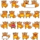 18 Smiley Foxes - GraphicRiver Item for Sale