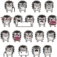 18 Smiley Hedgehogs  - GraphicRiver Item for Sale