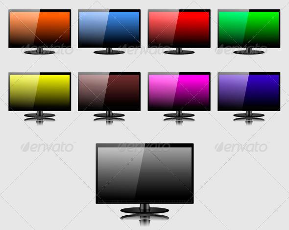 GraphicRiver TV Screen 7340579