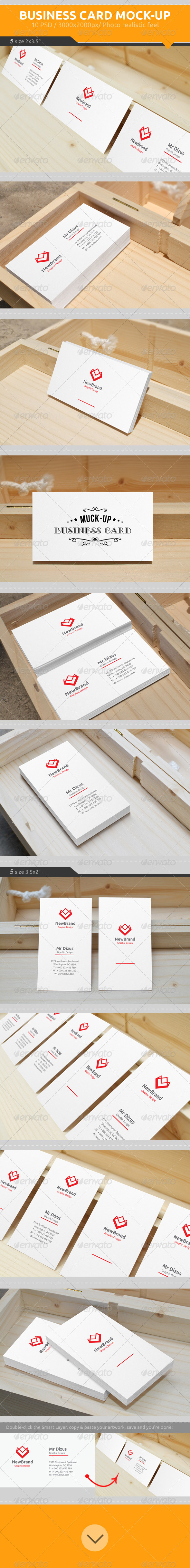 GraphicRiver Business Card Mock-Up 7315918