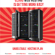 Web Hosting Flyers - GraphicRiver Item for Sale