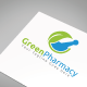 Green Pharmacy Logo Template - GraphicRiver Item for Sale