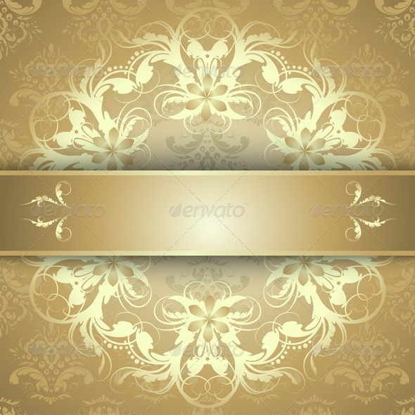 GraphicRiver Gold Pattern 7341476
