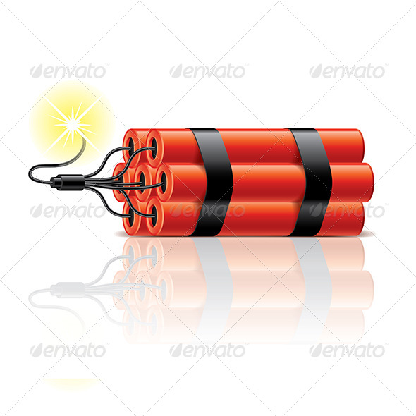 GraphicRiver Dynamite Sticks Illustration 7341535