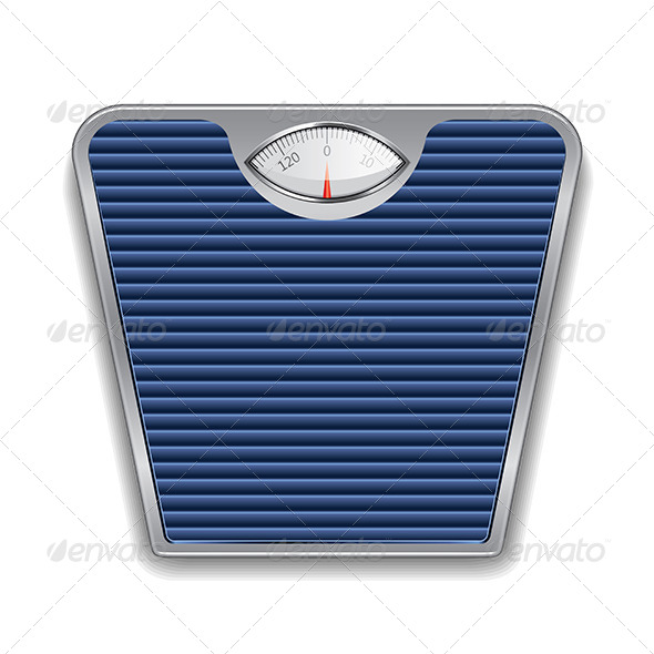 GraphicRiver Weight Scale Illustration 7341550