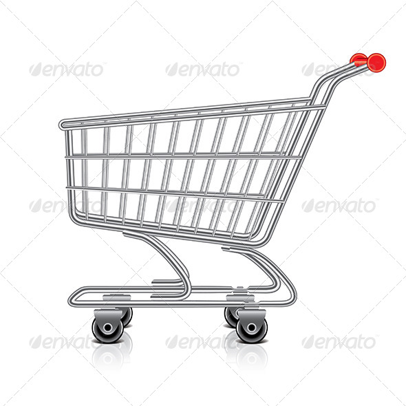 GraphicRiver Shopping Cart Illustration 7341552