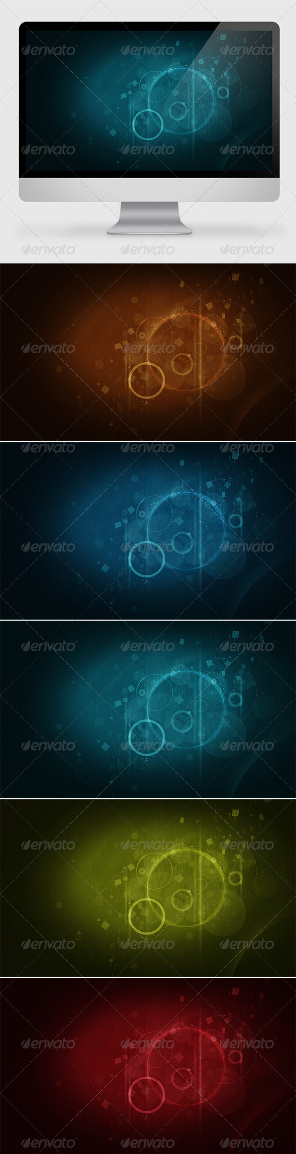 GraphicRiver Abstract Geometrical Backgrounds 7341563