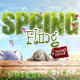 Spring Fling Easter Edition Flyer - GraphicRiver Item for Sale