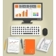 Set of Business Work Elements - GraphicRiver Item for Sale