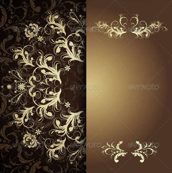 GraphicRiver Calligraphic Patterns 7341933