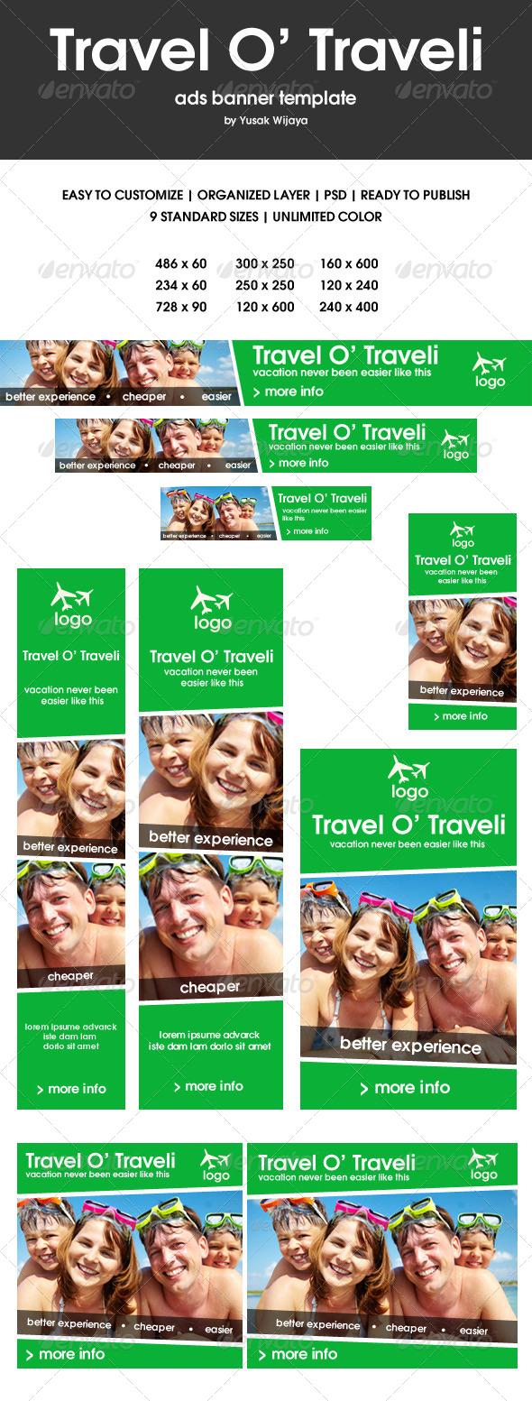 GraphicRiver Travel O Traveli 7342139