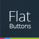 Flat Button Set - GraphicRiver Item for Sale
