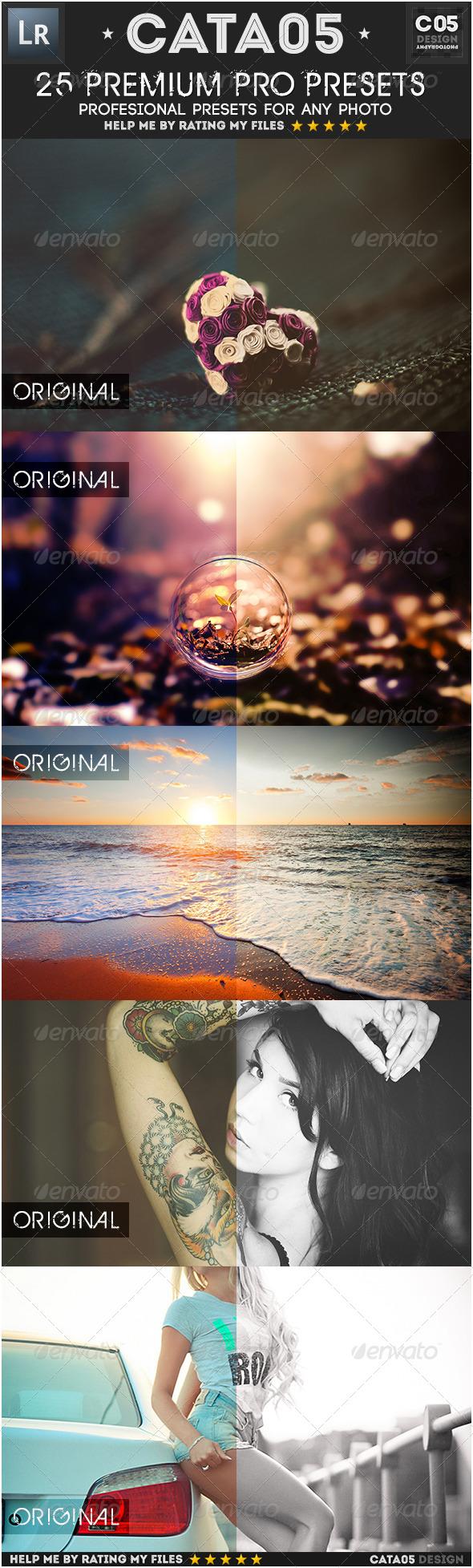 GraphicRiver 25 Premium Pro Presets 7342201