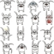 Smiley Rabbits - GraphicRiver Item for Sale