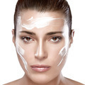 Beautiful Spa Girl with Cream on Her Face. Skincare concept - PhotoDune Item for Sale