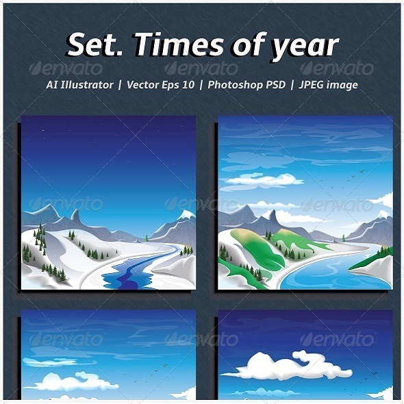GraphicRiver Times of year 7332043