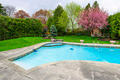 Swimming pool in backyard - PhotoDune Item for Sale