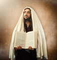 Jesus shows the holy bible - PhotoDune Item for Sale