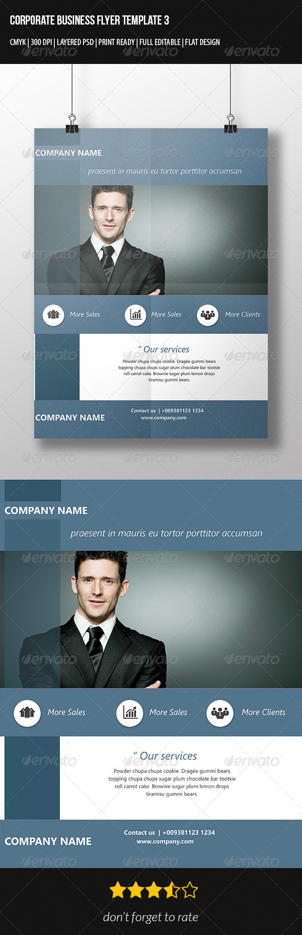 GraphicRiver Corporate Flyer Business Template 2 7301955