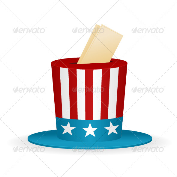 GraphicRiver Ballot Hat 7342818