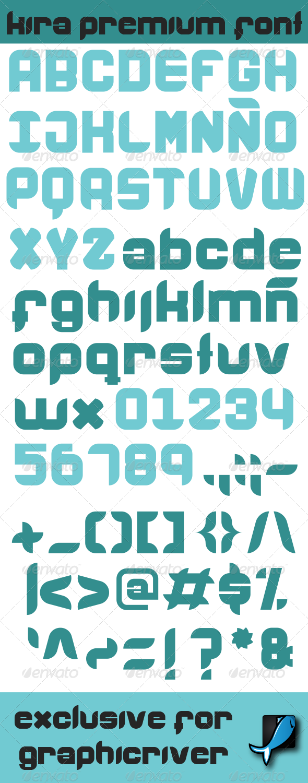 GraphicRiver Kira Premium Font 7342839