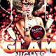 Glam Party Flyer III - GraphicRiver Item for Sale