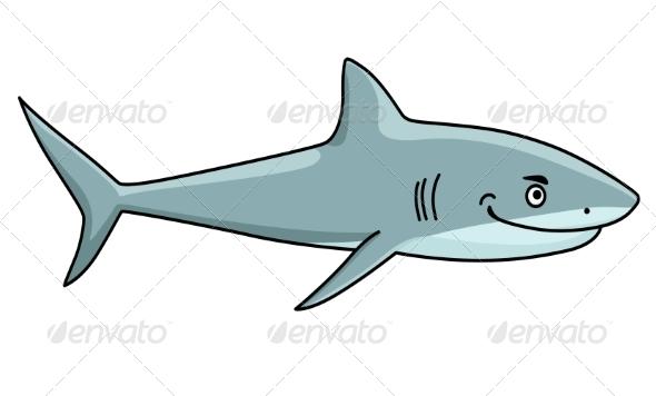 GraphicRiver Smiling Ferocious Shark 7344076