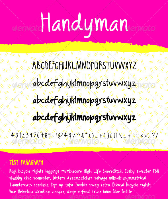 GraphicRiver Handyman Family 7344214