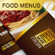 Tri-Fold Restaurant Food Menus - GraphicRiver Item for Sale