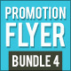 Product Promotion Flyer Bundle 4 - GraphicRiver Item for Sale