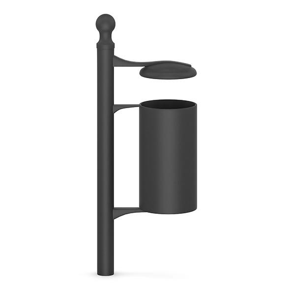 3DOcean Street Black Recycle Bin 7345780