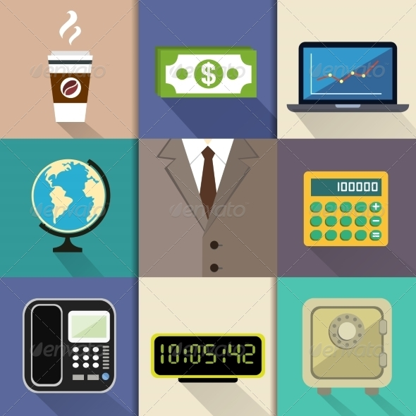 GraphicRiver Business Set 7345923