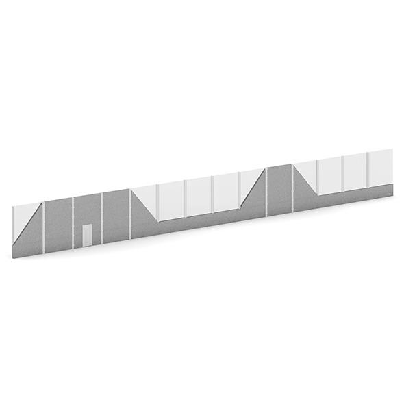 3DOcean Highway Acoustic Barriers 7345936