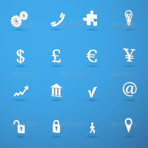 GraphicRiver Business infographic icons set 7345978