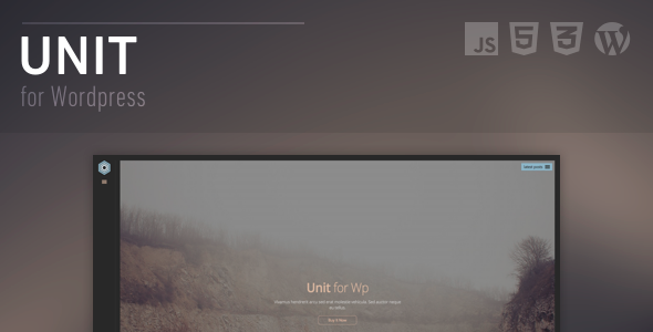 ThemeForest Unit Full Screen Responsive 7346142