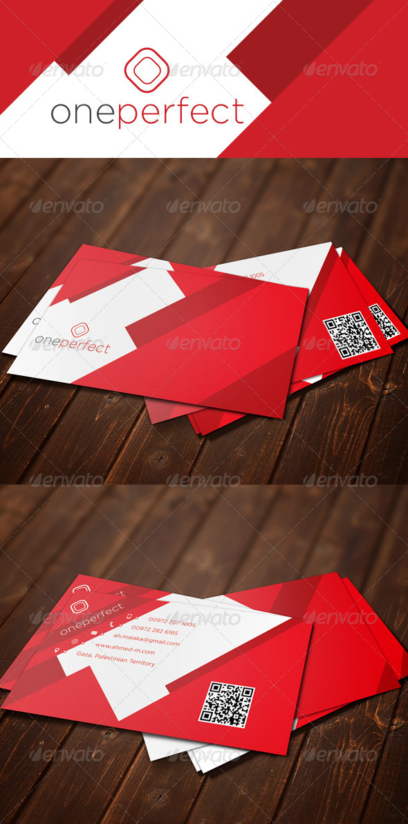 GraphicRiver one perfect 2 5999427
