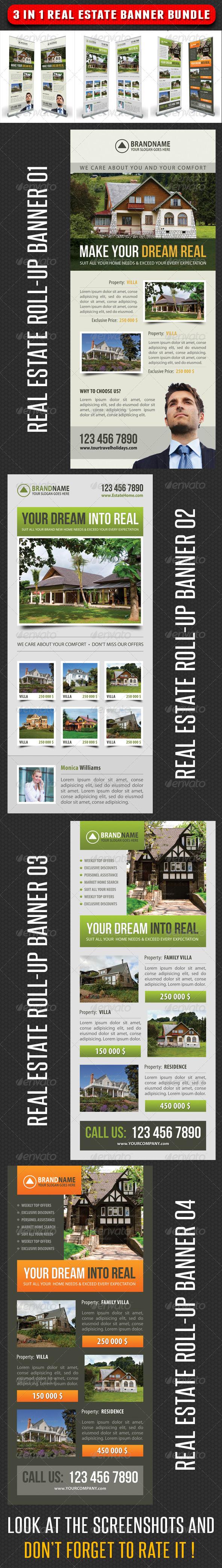 GraphicRiver 3 in 1 Real Estate Banner Bundle 03 7346257