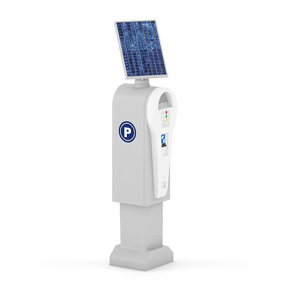 3DOcean Solar Parking Meter 7346596