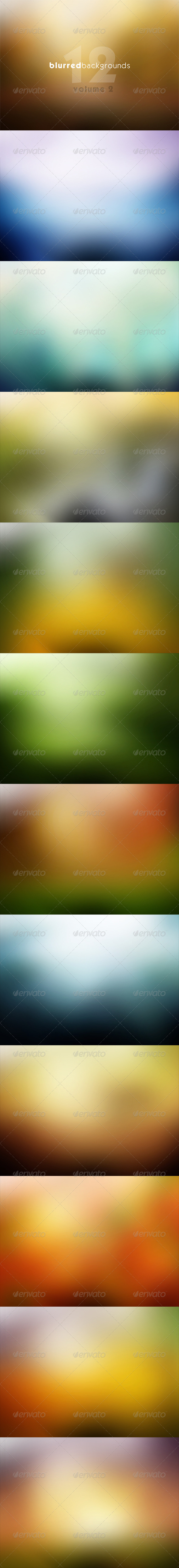 GraphicRiver Blurred Backgrounds Vol 2 7346610
