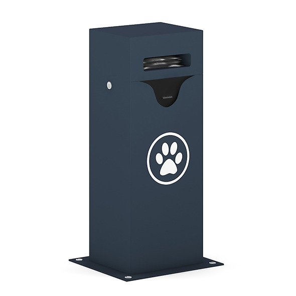3DOcean Dog Waste Container 7346804