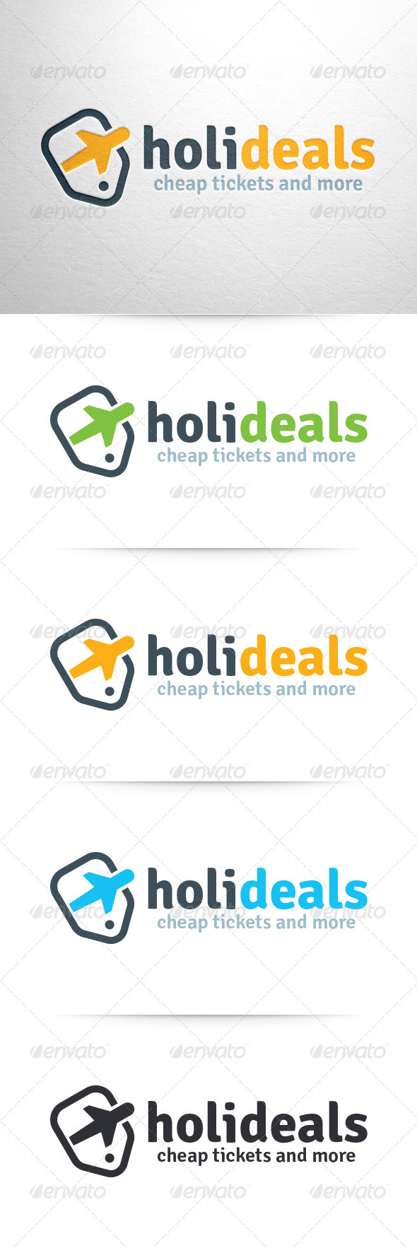GraphicRiver Holiday Deals Logo Template 7347282