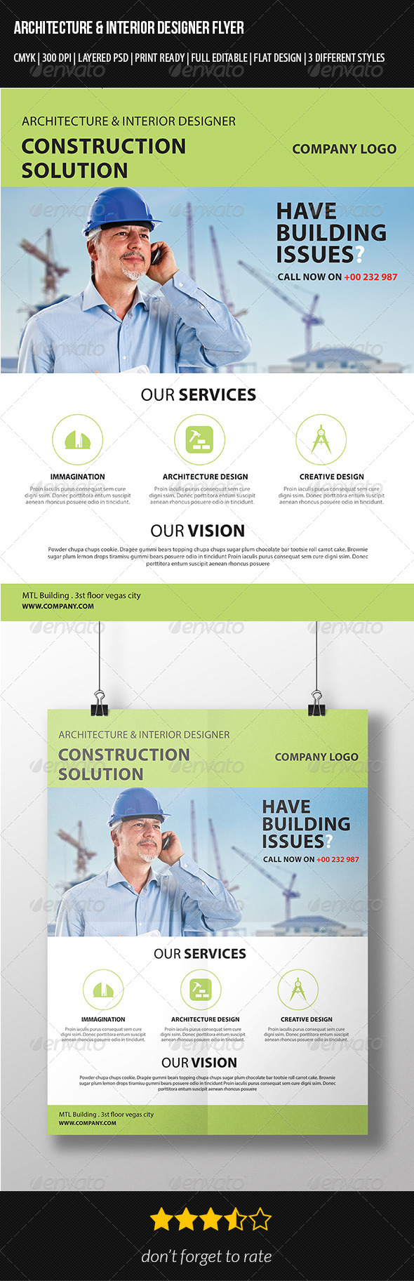 GraphicRiver Architecture Flyer Template 7347331