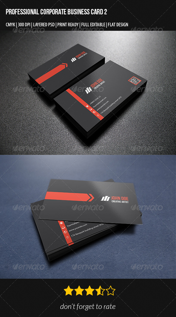 GraphicRiver Corporate Business Card 2 7347501
